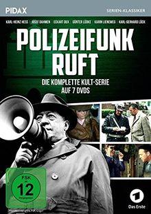 Polizeifunk ruft / Die komplette 52-teilige Krimiserie (Pidax Serien-Klassiker) [7 DVDs]