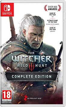 White Shark Games - Witcher 3 - Wild hunt (Complete edition) (SWITCH)