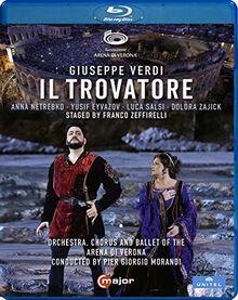 Verdi: Il Trovatore [Anna Netrebko; Yusif Eyvazov; Arena di Verona, Italy, June 2019] [Blu-ray]