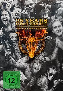 25 Years Louder Than Hell-The W:O:A Documentary (Wacken) [Blu-ray]