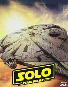 Star Wars - Solo: A Star Wars Story (3D) (Blu-Ray 3D+2 Blu-Ray) (Ltd Steelbook) (1 BLU-RAY)