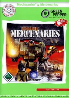 Mechwarrior 4 Mercenaries (Green Pepper)