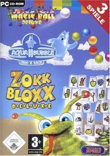 Aqua Bubble 2 & Zokk Bloxx Deluxe