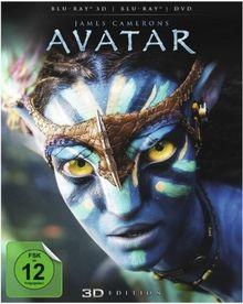 Avatar - Aufbruch nach Pandora 3D (inkl. 2D Version + DVD) [Blu-ray 3D]