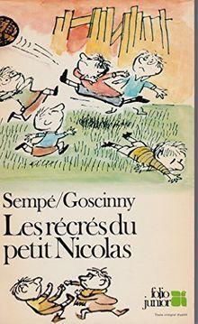 Les récrés du petit nicolas (Bib Folio Jr)