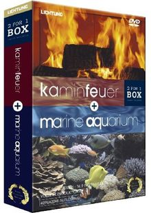 Kaminfeuer + Marine Aquarium (2 DVDs) [Special Collector's Edition]