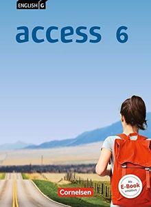 English G Access - Allgemeine Ausgabe: Band 6: 10. Schuljahr - Schülerbuch: Kartoniert