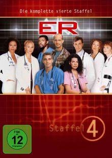 ER - Emergency Room, Staffel 04 [6 DVDs]
