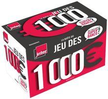 La boîte du jeu des 1 000 euros