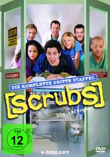 Scrubs: Die Anfänger - Die komplette dritte Staffel [4 DVDs]