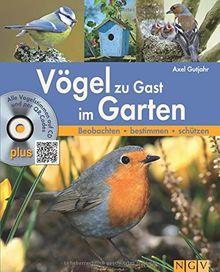 Vögel zu Gast im Garten: Alle Vogelstimmen auf CD und per QR-Code. Beobachten - bestimmen - schützen.