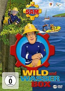 """Feuerwehrmann Sam - Wild & Wasser Box (inkl. """"In Pontypandy wird's wild"""" & """"Helden auf dem Wasser"""") [2 DVDs]"""