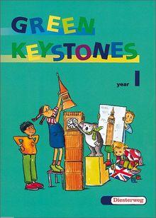 Green Keystones. Für den Frühenglischunterricht in den Klassen 1-4: GREEN KEYSTONES - Ausgabe 2001: Activity book 1