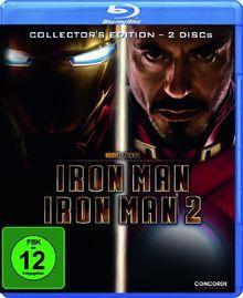 Iron Man / Iron Man 2 [Blu-ray] [Collector's Edition]