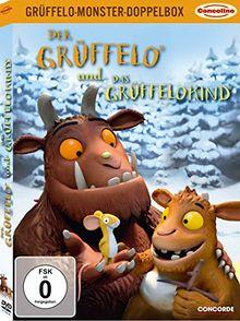 Grüffelo-Monster-Doppelbox: Der Grüffelo / Das Grüffelokind (limitierte Version in O-Card)[2 DVDs]