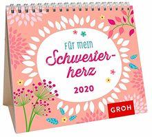 Für mein Schwesterherz 2020: Mini-Monatskalender