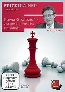 Mihail Marin: Power-Strategie 1 - Aus der Eröffnung ins Mittelspiel