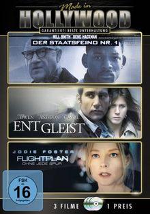 Made in Hollywood: Staatsfeind Nr. 1 / Entgleist / Flightplan [3 DVDs]