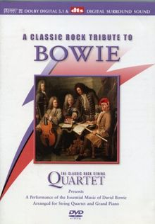 The Classic Rock String Quartet: A Classic Rock Tribute to David Bowie [UK Import]