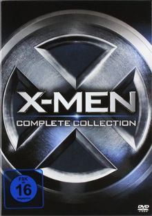 X-Men - Complete Collection (alle 5 Filme inkl. X-Men: Erste Entscheidung) [5 DVDs]