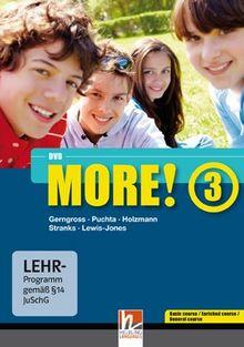 MORE! 3 DVD-ROM mit Schularbeiten-Training: Einzelplatzversion für Basic/Enriched/General