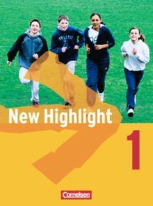 New Highlight - Allgemeine Ausgabe: Band 1: 5. Schuljahr - Schülerbuch: Kartoniert