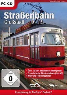 Pro Train Perfect 2 - Straßenbahn-Großstadt (Add-On)