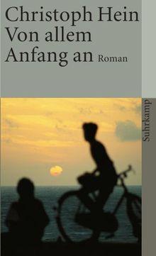 Von allem Anfang an: Roman (suhrkamp taschenbuch)