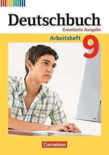 Deutschbuch - Zu allen erweiterten Ausgaben: 9. Schuljahr - Arbeitsheft mit Lösungen