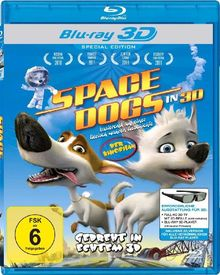 Space Dogs in 3D [3D Blu-ray] [Special Edition]