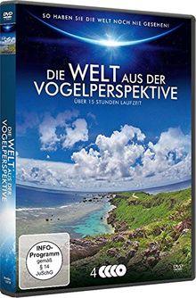 Die Welt aus der Vogelperspektive [4 DVDs]