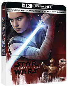 Star wars épisode VIII : les derniers jedi 4k ultra hd [Blu-ray] [FR Import]