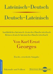 Lateinisch-Deutsch/Deutsch-Lateinisch