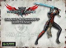 WH40K Wrath & Glory - Talente und Psikräfte Kartenset (Wrath and Glory Zubehör)