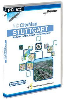 3D CityMap Stuttgart Ausgabe 06 (DVD-ROM)