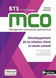 Développement de la relation client et vente conseil BTS MCO 1re et 2e années