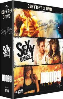 Coffret dancing : sexy dance 1 et 2 ; honey [FR Import]