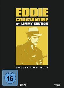 Eddie Constantine Collection No. 1 - Lemmy Caution [3 DVDs]