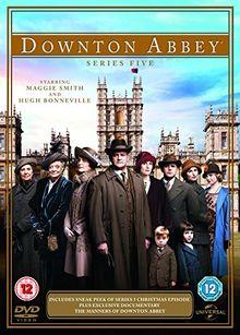 Downton Abbey - Staffel 5 - UK-Import nur mit englischem Ton