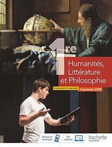 Humanités, Littérature et Philosophie 1re : Enseignement de spécialité
