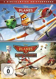 Planes + Planes 2 Doppelpack [2 DVDs]