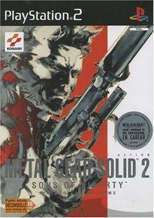 Metal Gear Solid 2 - Sons Of Liberty (Französische Version)