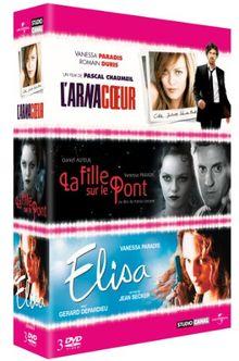 Coffret Vanessa Paradis: L'arnacoeur / La fille sur le pont / Elisa