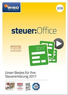 WISO steuer:Office 2018 (für Steuerjahr 2017)