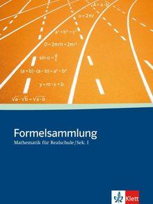 Formelsammlung für Realschulen