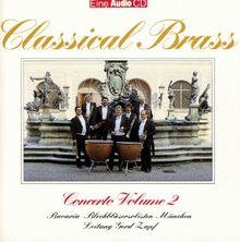 Audio Concerto Volume 2 - Classical Brass