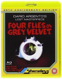SHAMELESS Four Flies On Grey Velvet [BLU-RAY]