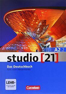 studio [21] - Grundstufe: A2: Teilband 2 - Das Deutschbuch (Kurs- und Übungsbuch mit DVD-ROM): DVD: E-Book mit Audio, interaktiven Übungen, Videoclips