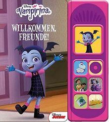 Disney Vampirina - Willkommen Freunde -Soundbuch - Pappbilderbuch mit 7 coolen Geräuschen für Kinder ab 3 Jahren