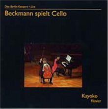 Beckmann spielt Cello